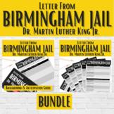 """""""Letter from Birmingham Jail"""" BUNDLE   Martin Luther King Jr."""