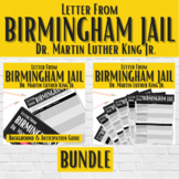 """Letter from Birmingham Jail"" BUNDLE 