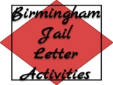 """""""Letter from Birmingham Jail"""" HW Questions, Group Activity"""
