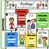 "(Level 2)""Feelings"" card game"