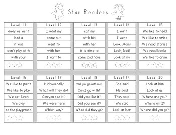"""Level Up"" Sight Word Phrases"