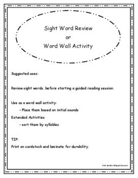 ¡Leyendo! Oraciones Sencillas Con evaluacion de 12 Palabras de Uso Frecuente II