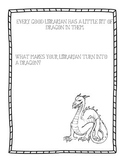 Library Dragon Activity Page