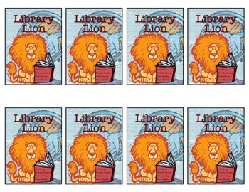 """Library Lion"" Literature Trading Cards"