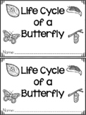 """""""Life Cycle of a Butterfly"""" A May Emergent Reader and Response Dollar Deal"""