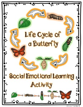 """""""Life Cycle of a Butterfly"""" Student Social Emotional Learning Activity"""
