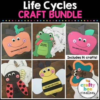 """Life Cycles"" Craftivity Set"