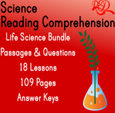 ⭐Life Science Reading Comprehension Passages and Questions