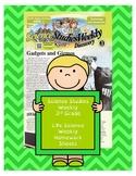 (Life) Science Studies Weekly 3rd Grade Weekly Homework Sh