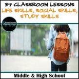 "School Counseling ""30 Life Skills & Study Skills"" Lessons"