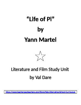 """Life of Pi"" Literature and Film Study"
