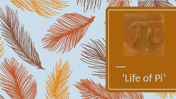 'Life of Pi' - Powerpoint