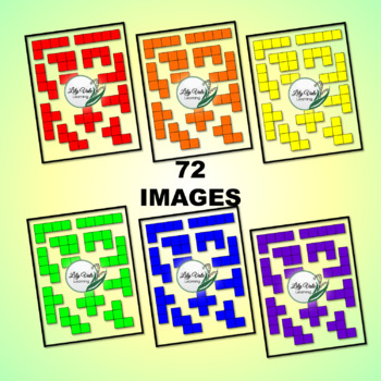 "*Light Table Explorations- PENTOMINOES"" by LilyVale Learning"