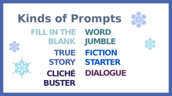 6 Winter Writing Prompts