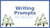 [Freebie!] 6 Winter Writing Prompts