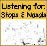 """Listening for..."" Stops and Nasals Edition"