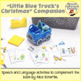 """Little Blue Truck's Christmas"" Speech and Language Book C"