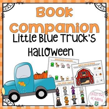 """""""Little Blue Truck's Halloween"""" Book Companion"""