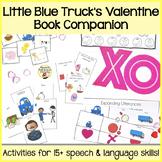"""""""Little Blue Truck's Valentine"""" Speech and Language Book C"""