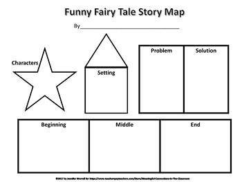 """Little Brown Hen"" Word Blank Story, Fairy Tale Story Map, and Grammar Sort"