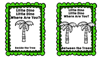 """Little Dino"" Spatial Concept Booklet"