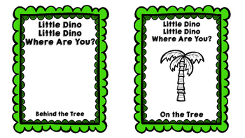 Dinosaur Concept Books for Speech Therapy