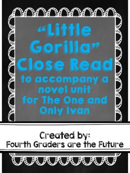 """Little Gorilla"" Close Read"