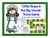 """""""Little House in the Big Woods"""" Comprehension Board Game ["""