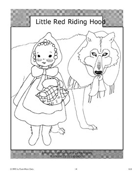 """""""Little Red Riding Hood"""": A Retelling"""