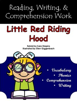 """Little Red Riding Hood"" Guided Reading Program Work"