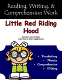 """""""Little Red Riding Hood"""" Activities for Guided Reading & Writing"""