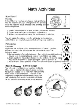"""Little Red Riding Hood"": Math Activities"