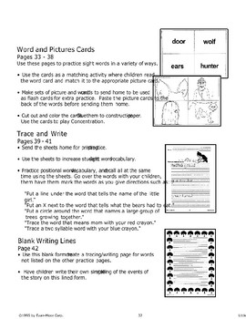 """""""Little Red Riding Hood"""": Reading Activities"""
