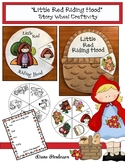 """Little Red Riding Hood"" Story Wheel Craft (Sequencing & Retelling a Story)"