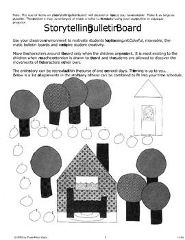 """Little Red Riding Hood"": Storytelling Bulletin Board"
