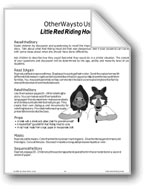 'Little Red Riding Hood': Ways to Use the Story