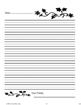 """""""Little Red Riding Hood"""": Writing Activities"""