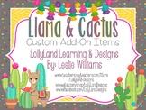 """""""Llama & Cactus"""" CUSTOM ADD-ON- R. Ramos"""