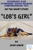 """Lob's Girl"" by Joan Aiken Multiple-Choice Reading Analysis & Comprehension Test"
