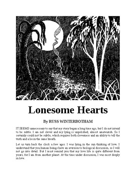 """""""Lonesome Hearts"""" - A Science Fiction Short Story"""