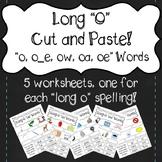 """""""Long O"""" Cut and Paste! """"oa, ow, oe, o_e, o"""""""