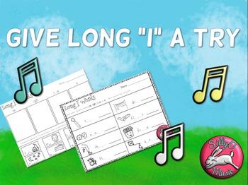 Long I Worksheets & Song