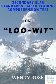 """""""Loo-Wit"""" Poem by Wendy Rose Multiple-Choice Reading Comprehension Test"""
