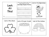 """Look"" sight word mini book"