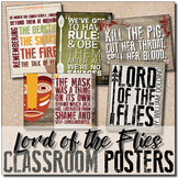 {Lord of the Flies} Key Quotes POSTERS