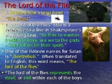 """Lord of the Flies"" Powerpoint Notes"