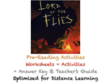 'Lord of the Flies' (William Golding) - Survival Training (Pre-Reading Activity)