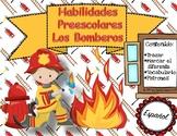 """""""Los Bomberos"""" Habilidades Preescolares"""