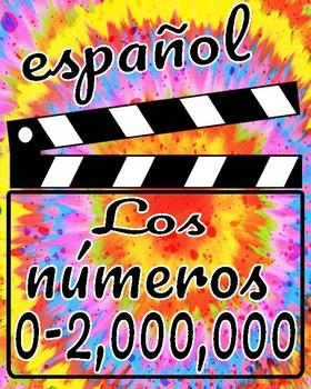 ¡Los números 1-2,000,000!