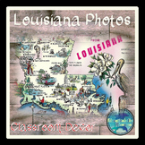 """Louisiana"" Photos Classroom Decor"